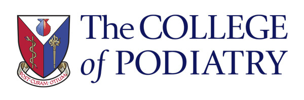 College of Podiatry logo